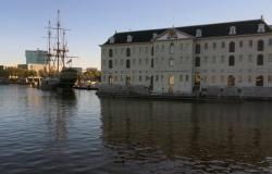 vooraangezicht scheepvaartmuseum